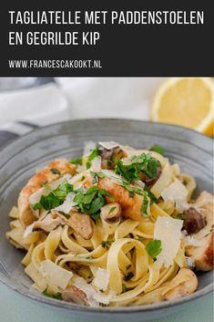 Pasta Primavera, Penne Pasta, Scampi, Couscous, Pasta Recipes, Italian Recipes, Healthy Life, Tasty, Healthy Recipes