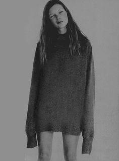 i-D UK, December 1993Photographer: Corinne DayModel: Kate Moss