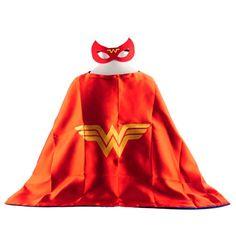 Mask+Cape Superman Spiderman Batman Kids Superhero Capes Costume Suits For Boys…