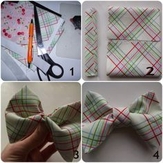 Live Love Create: No Sew Fabric Bow Tutorial . Fabric Bow Tutorial, Fabric Bows, Crafty Craft, Live, Sewing, Create, Roasted Tomatoes, Blog, Ribbons