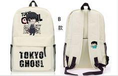 anime Tokyo Ghoul Backpack School Bag Shoulder bag Computer bag B style