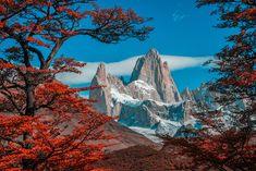 Argentina - El Chalten, Mount Fitz Roy in Los Glaciares National Park Gyeongju, Places To Travel, Places To See, Chile, In Patagonia, Argentina Patagonia, Culture Art, Destinations, Site Archéologique
