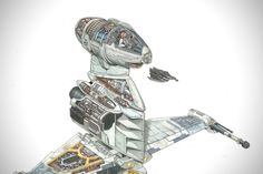 Incredible Cross Sections of Star Wars by David Reynolds 5