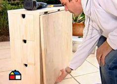 Cómo construir una mesa plegable