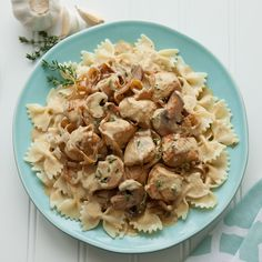 Check out this great recipe from French's: Chicken with Caramelized Onions over Pasta!