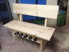 Bierbank Wood Chairs, Stools, Tables, Furniture, Home Decor, Cash Gifts, Beer, Diy, Ideas