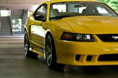A closer look at Jarred Williams' 2003 Extreme 2003 Saleen 2003 manufactured in Irvine, CA 445 HP Engine Supercharged Zinc Yellow miles Options Saleen Mustang, Ford Mustangs, Jdm, Cars, Vehicles, Autos, Car, Car, Automobile