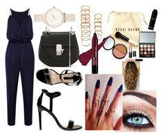 A fashion look from July 2015 featuring blue romper, high heel shoes and chloe purse. Browse and shop related looks. Olivia Burton, Ankle Strap Sandals, Leather Purses, Idol, Fashion Looks, Shoe Bag, Bobbi Brown, Polyvore, Forever 21