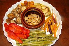 Roasted Vegetables - really a lot of information on how long to roast each one, and what oils and/or salts to drizzle on each one.  Great little article.
