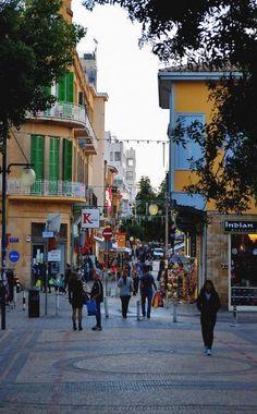 The pedestrian Ledra Street in Nicosia, Cyprus South Cyprus, Cyprus Island, Cyprus Holiday, Nicosia Cyprus, Pedestrian, Asia, Street View, World, Places