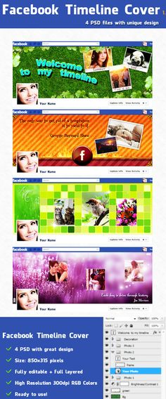 Facebook Timeline Covers 1 by ~sarthony on deviantART