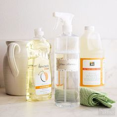 Enjoy a better view through your windows with this simple homemade window and glass cleaner.