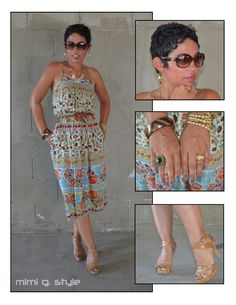 Todays Look: Lady Like Dress + Nude Pumps @ www.mimigstyle.com