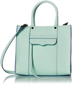 8d43a6d46858 Rebecca Minkoff Mab Tote Mini Cross-Body Handbag A scaled-down version of  Rebecca Minkoff s signature MAB tote. A tassel pull closes the zip front  pocket