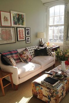 Gabby Deeming's Sitting Room - Living Room Design Ideas & Pictures (houseandgarden.co.uk)