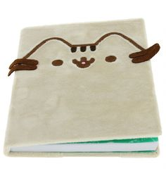 Stroke and pet this super soft pusheen notebook - covered in a grey plush material, with an embellished pusheen face and ears this notebook really brings pusheen to life. Let pusheen join you whilst you write away on the lined pusheen pages. A5 Notebook Cover, Hardback Notebook, Fabric Covered, Cat Memes, Cats And Kittens, Diy And Crafts, Stationery, Stuff To Buy, Pusheen Stuff