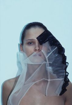 Carmen Kass for Self Service n° 7, shot by Mark Borthwick