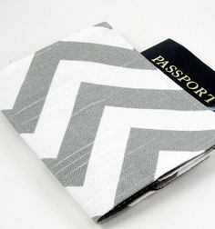 @Tabitha Geiger - think you could make me one if I bought the material??  Passport Cover for my Summer Trips!