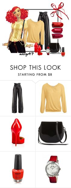 """""""dziewczyna"""" by margo47 ❤ liked on Polyvore featuring ace & jig, Rebecca Minkoff and Bertha"""