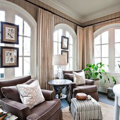 Traditional Home Window Treatments