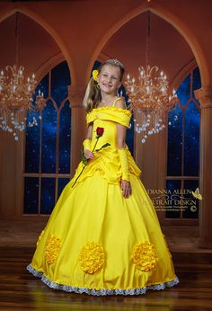 Belle Cosplay Dress Ball Gown Beauty And The Beast