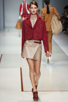 Trussardi Spring 2015 Ready-to-Wear Fashion Show - Ophelie Guillermand