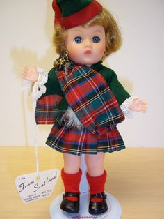 Vintage Vogue Ginny Scotland - 1960's - Excellent