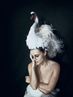 Helena Bonham Carter  By Daniel Radcliffe  Photography Peter Lindbergh