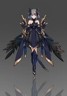 Female Character Design, Character Design Inspiration, Character Concept, Character Art, Concept Art, Fantasy Armor, Anime Fantasy, Fantasy Girl, Fantasy Characters