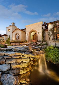 Showcase home in Austin: Spanish Oaks Hacienda