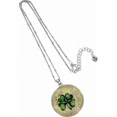 "Brighton's ""Luck Wish"" Necklace...wish I had this for St. Patrick's Day!"