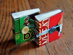 minimeg: Recycled Longstitch Books 182-183