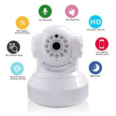 US $36.00 New in Consumer Electronics, Home Surveillance, Security Cameras #camera #security #ipcamera #family #safety