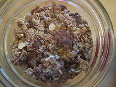 Amateur Aglow: Chai/ Winter-y Granola Recipe