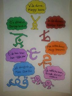 Okul öncesi Preschool Logo, Preschool Colors, Spring Tutorial, Noble Quran, Preschool Graduation, Alphabet For Kids, Islam Quran, Diy Arts And Crafts, Stories For Kids