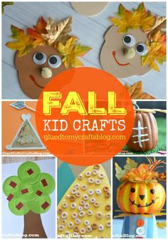 Fall Kid Craft Roundup