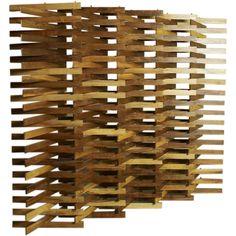 Ecran bois transparent