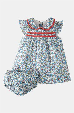 Mini Boden 'Pretty Tea' Dress & Bloomers (Infant) | Nordstrom