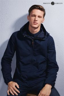 Layer yourself with men's jackets for the season. Mens Raincoat, Pretty Green, Padded Jacket, Hoods, Navy, Jackets, Fashion, Hale Navy, Down Jackets