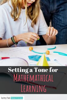 Easing Into Your Math Program – Setting a Tone For Mathematical Learning Upper Elementary Resources, Elementary Math, Math Resources, Nonfiction Text Features, Teaching Math, Teaching Ideas, Math Strategies, Math Books, Classroom Management