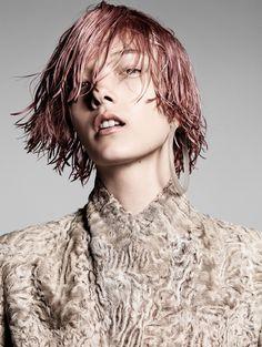 yumi lambert, marga esquivel and chen xi by terry tsiolis for vogue china november 2015 | visual optimism; fashion editorials, shows, campaigns & more!