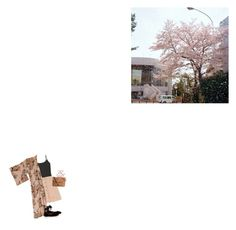 """""""pioggia di fiori di giliegio"""" by alessiap-06 on Polyvore featuring moda, A.P.C., Innocence, Tabitha Simmons e Pieces"""