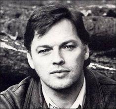 young David Gilmour