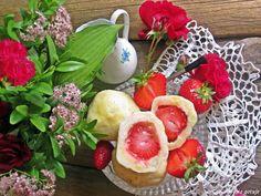Gosia gotuje: Knedle z truskawkami