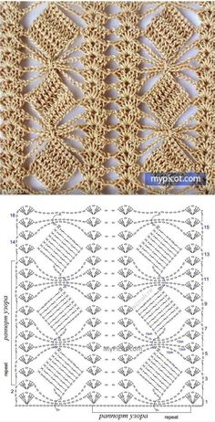 Define and symbols for crochet an openwork sample. by sara Crochet Scraf Looks like flower in a trellis. Crochet Shawl Diagram, Crochet Stitches Chart, Crochet Lace Edging, Crochet Motifs, Easy Crochet Patterns, Diy Crochet, Crochet Designs, Stitch Patterns, Knitting Patterns