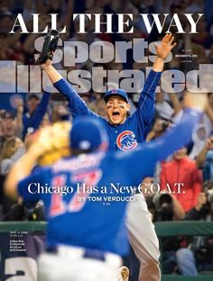 In 2016 the Cubs won their first World Series since 1908.