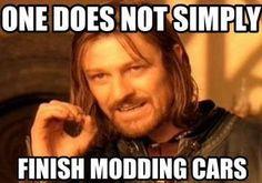 Modded Car meme