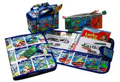Back to School Capri Sun Lunch Boxes, Folders, Pencil Pouches and More