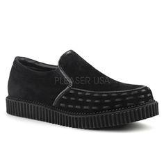 Demonia V-CREEPER-607 Loafer Men's Punk Shoes  - #infectiousthreads #goth #gothic #gothfashion #gothicclothing #horrorpunk #punk #alt #alternative #psychobilly #punkrock #black #fashion #clothes #clothing #darkfashion #streetfashion #UCG #upperclassgoth #creepers