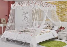 Decoracion Hogar - Comunidad - Google+ Wedding Bed, Swinging Chair, Teen Bedroom, Beautiful Bedrooms, Luxury Life, Bed Frame, Toddler Bed, Shabby Chic, House